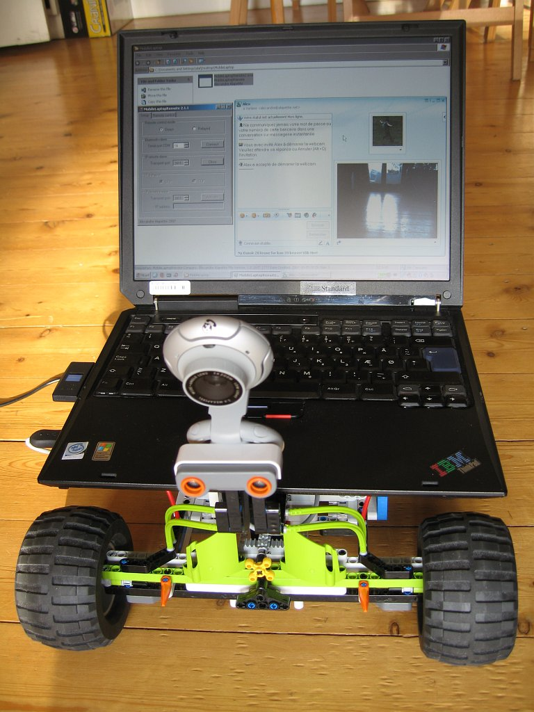 Mobile Laptop Computer Robot